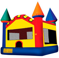 small 10'x10' bounce house for very small spaces