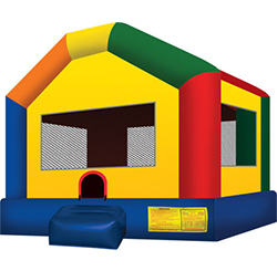 11'x11' bounce house. Perfect for smaller yards.